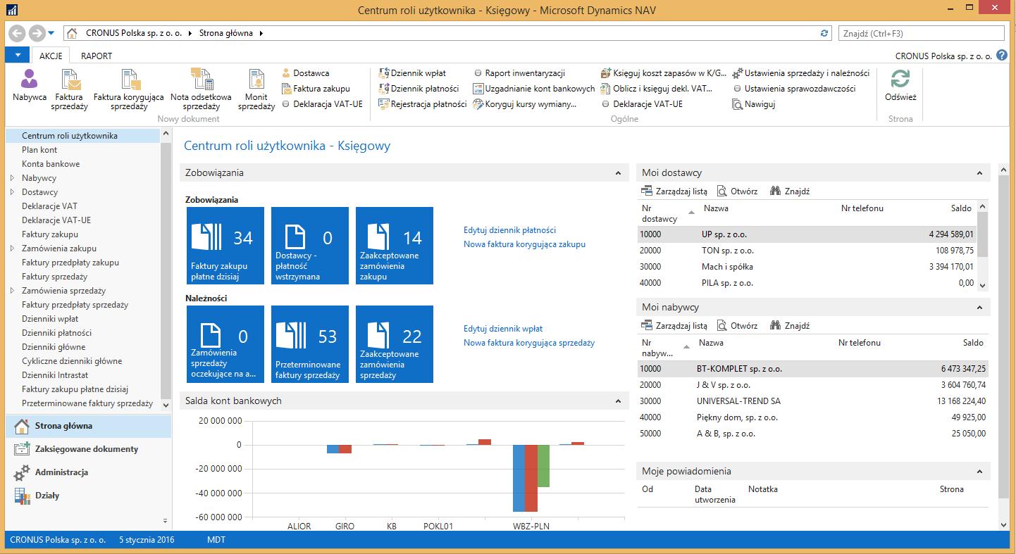 Navision Microsoft Dynamics Nav Opis Systemu